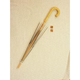 手作り日傘キット 木製 籐編み